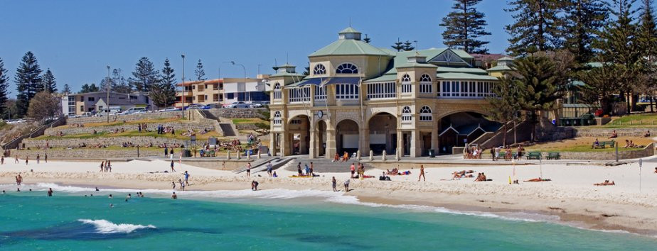Cottesloe Beach, WA. Traditional Aboriginal owners are the Nyoongar People