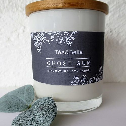 Ghost Gum Natural Soy Organic Candle