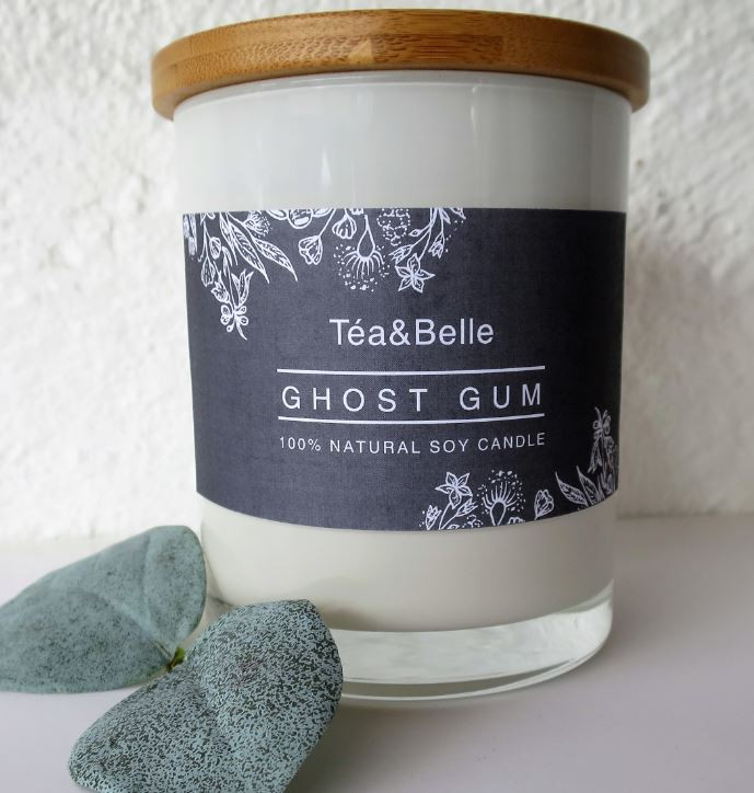 Ghost gum Candle. 100%Australian made. the perfect ethical gift for christmas. Indigenous owned business