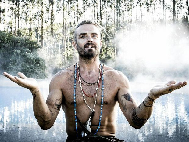 Strong and Proud Aboriginal man Xavier Rudd
