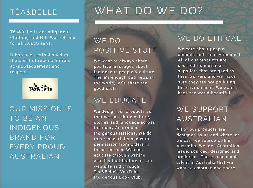 Tea&Belle, what we do.