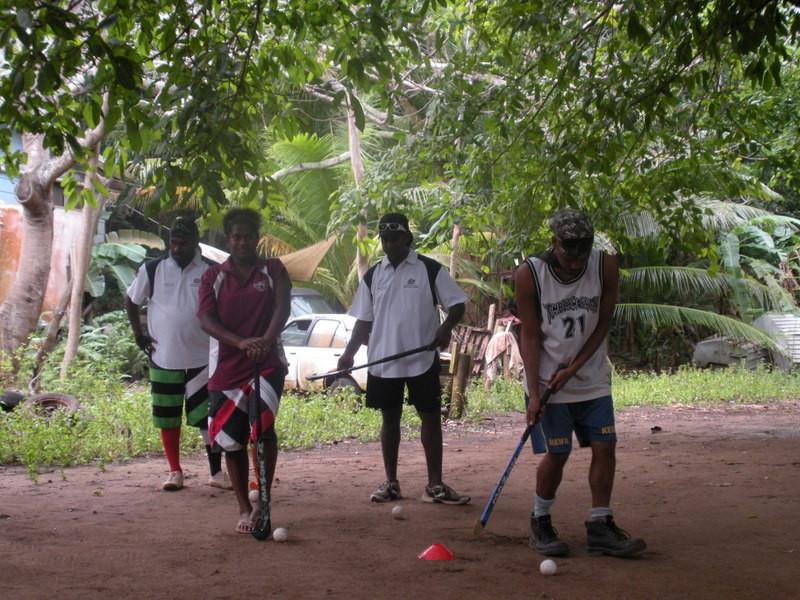 Torres Strait Islander Game