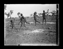 Bubberah, Traditional Australian Aboriginal children's game
