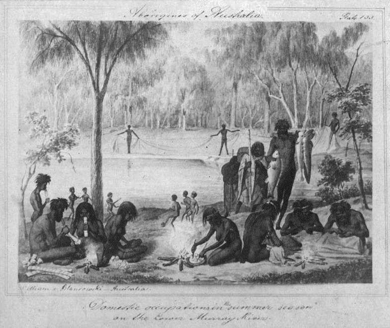 Traditional, Loving Indigenous scene