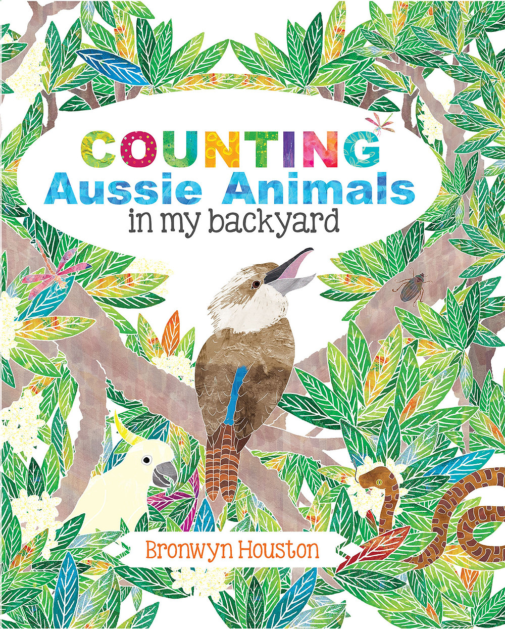 Counting Aussie Animals in my Backyard - Indigenous Book