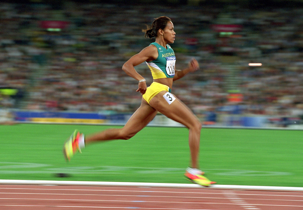 Olympic Gold Medalist and Australian former sprinter Cathy Freeman