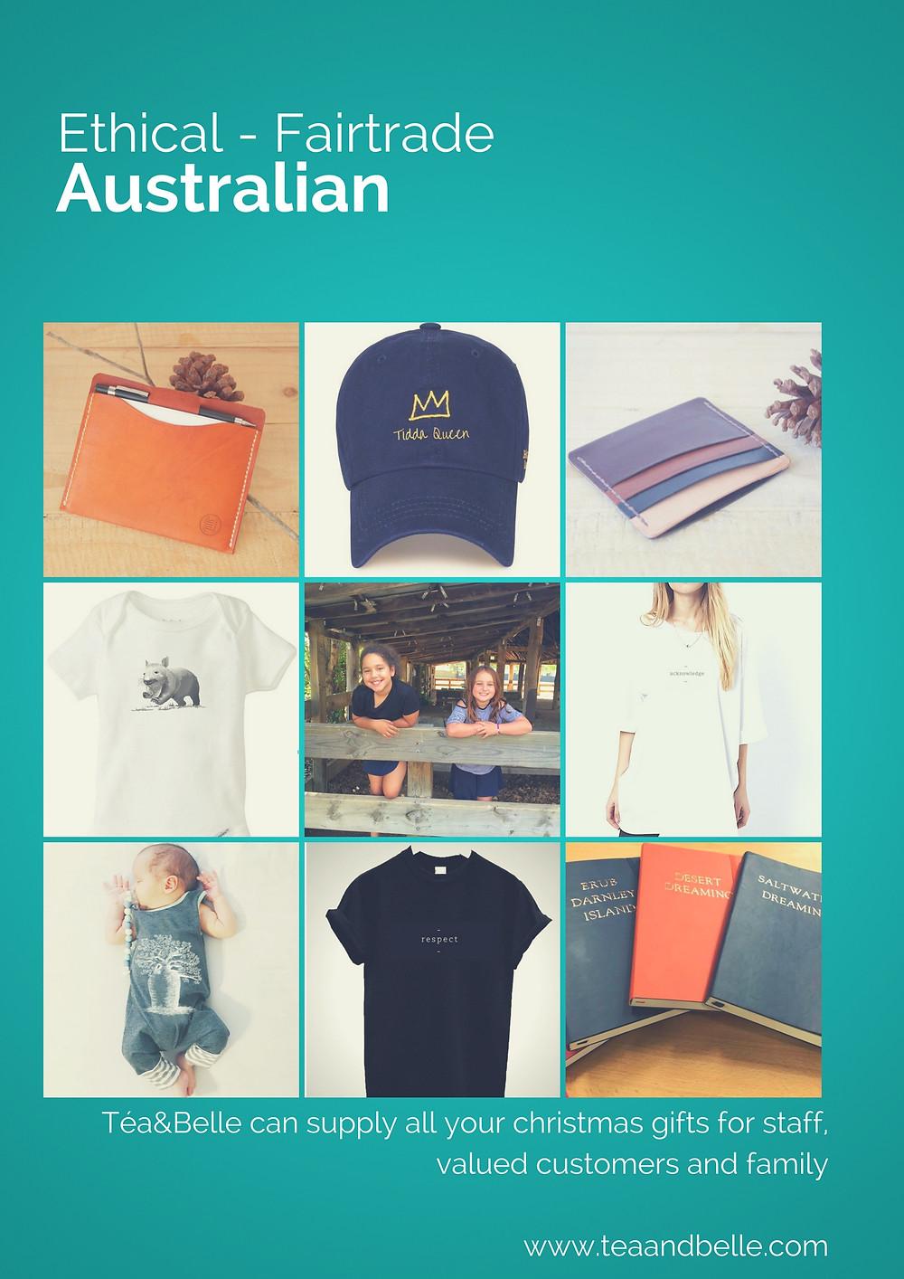 Ethical - Fair-trade - Australian - Indigenous Téa&Belle