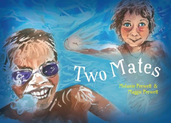Indigenous Book for kids, Two Mates. Author Melanie Prewire