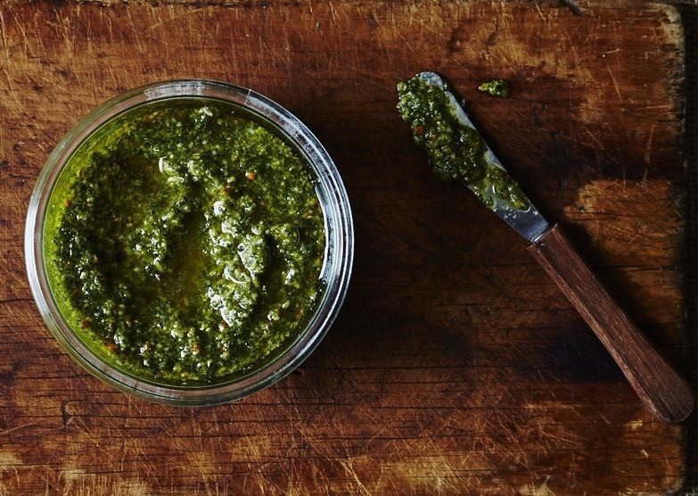 Samphire Pesto