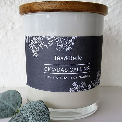 Cicadas Calling Natural Soy Candle