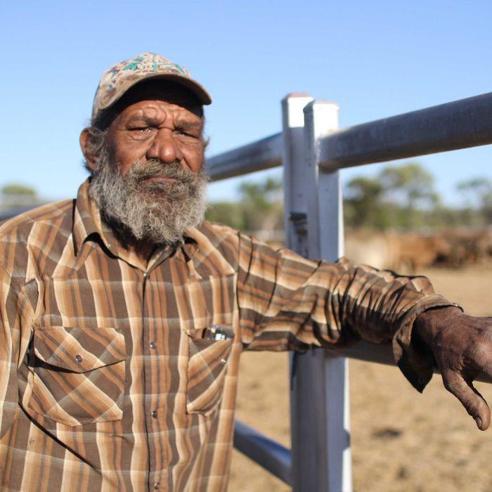 Australian Indigenous Stockman, Rex Collins.