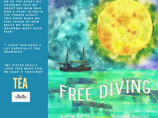 Téa&Belle Book Review - Free Diver by Lorrae Coffin