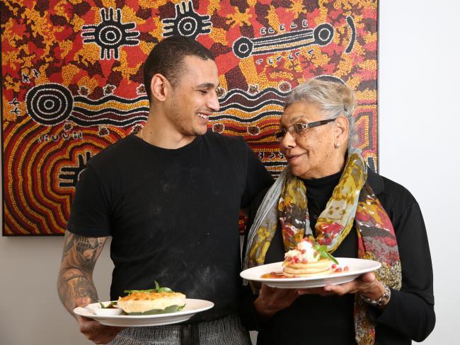 Australian native food and Aboriginal cafe, Biri Biri, Redfern Australia