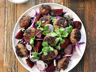 My Kitchen Rules, Yes yes it does!  Belle goes into the kitchen and knocks her Kangaroo Kofta's