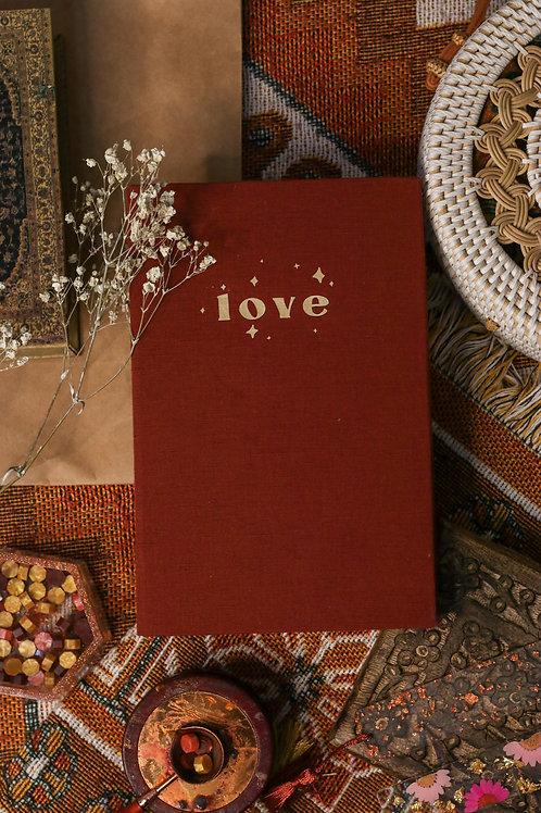 LOVE Linen Bible Journal