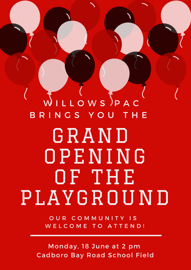 Official Playground Opening!