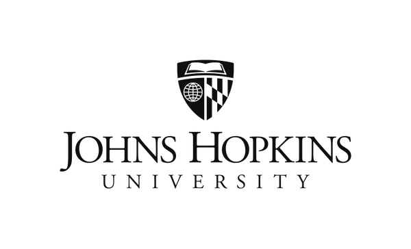 hopkins university logo black (vertical)