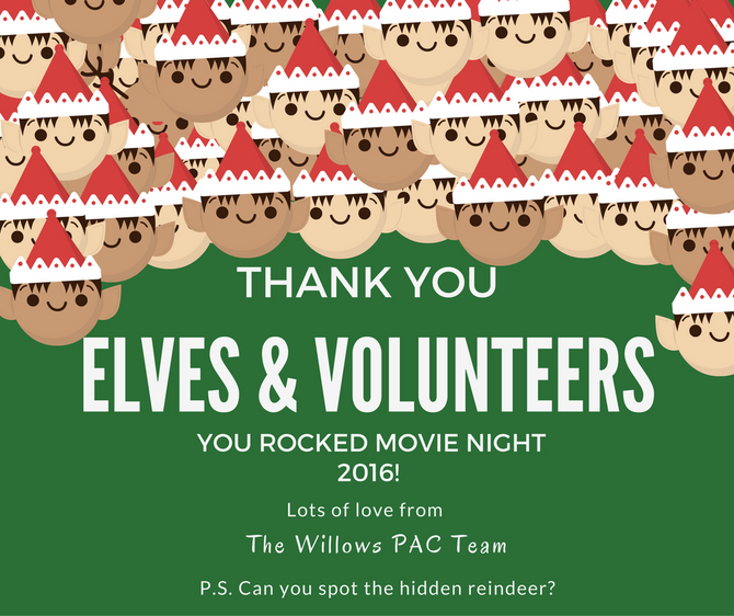 Thank you for Family Movie Night 2016