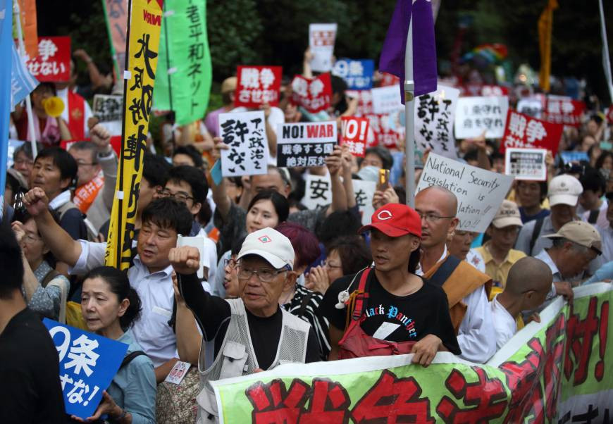 Analyzing the history of dissent in Japanese society