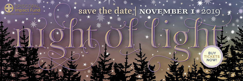 Please Join Us for Night of Light on November 1st to support Episcopal Impact Fund