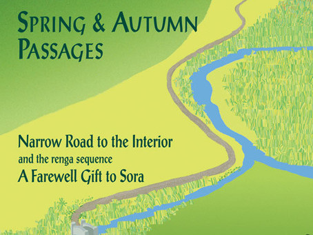 Excerpt Wednesday - Basho's Narrow Road: Spring and Autumn Passages