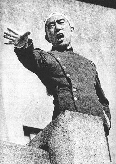 Mishima speech