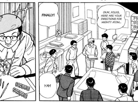 Review: Kotaku shares some panels from The Osamu Tezuka Story