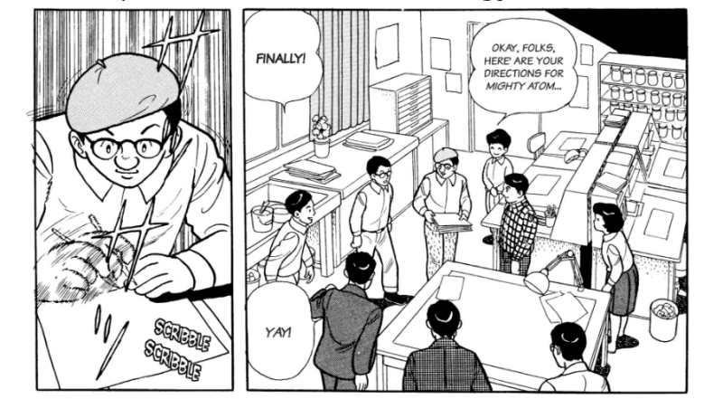 Review: Kotaku shares some panels from The Osamu Tezuka Story