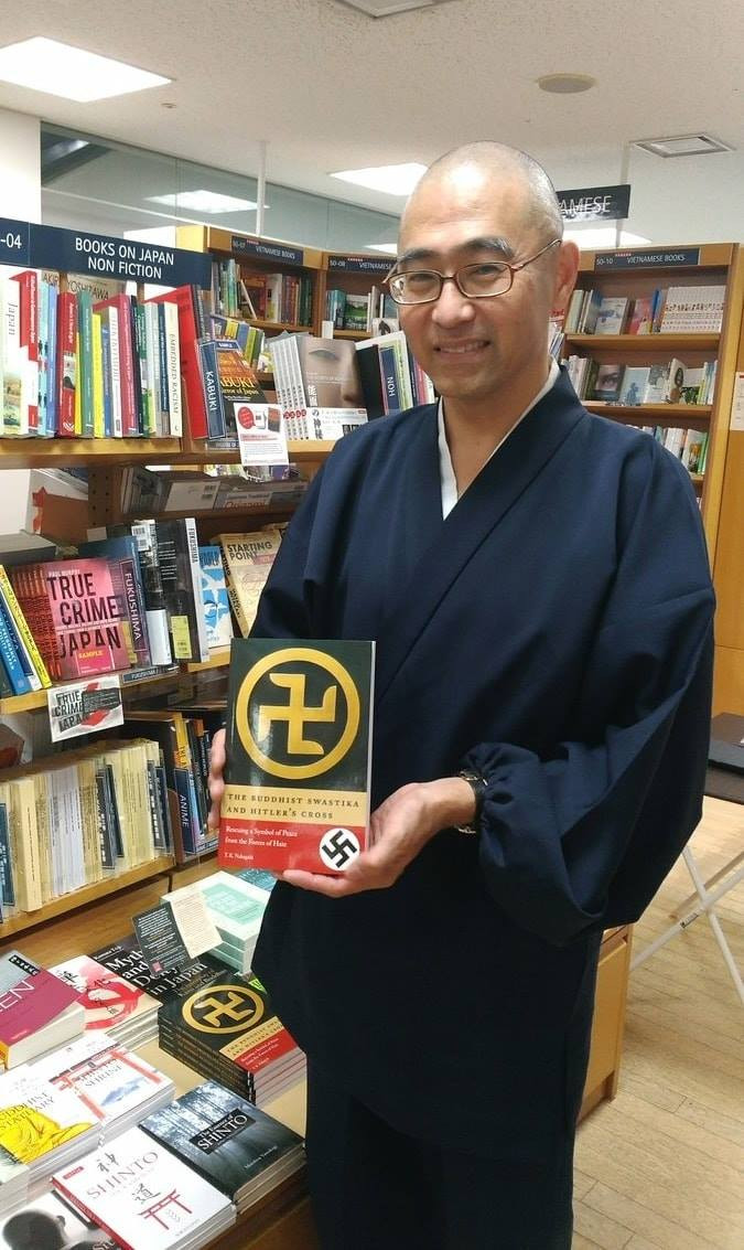 Author T.K. Nakagaki to speak at Kinokuniya New York on 'The Buddhist Swastika and Hitler's Cross'