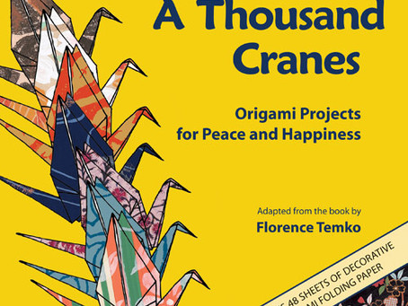Giveaway: A Thousand Cranes: Origami Projects for Peace and Happiness
