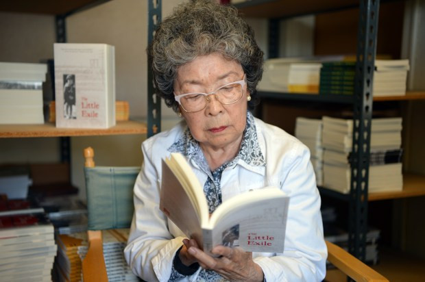 "The Mercury News interviews ""The Little Exile"" author Jeanette Arakawa"