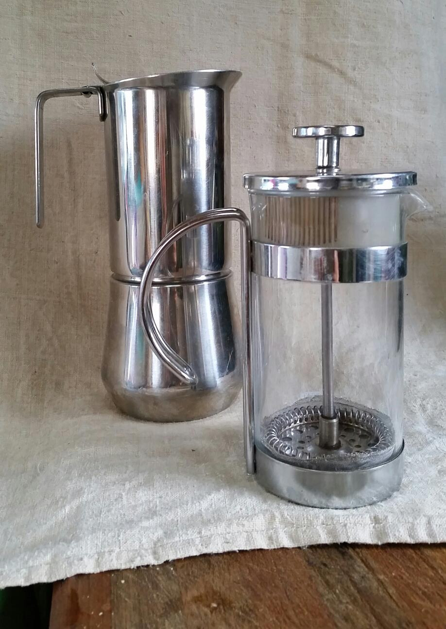french press coffee makes