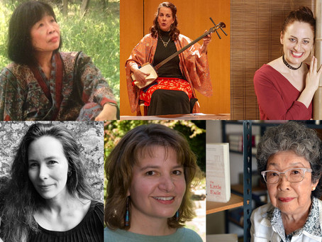 Celebrating our women writers for Women's History Month