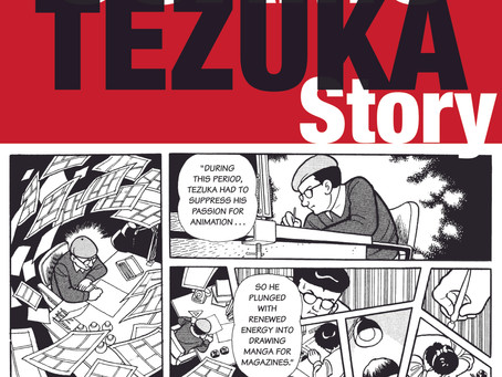"""The School Library Journal Review: """"The Osamu Tezuka Story"""""""
