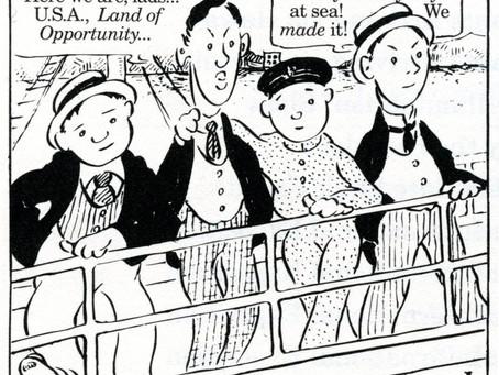 """""""The Four Immigrants Manga"""" - A Musical Drama"""