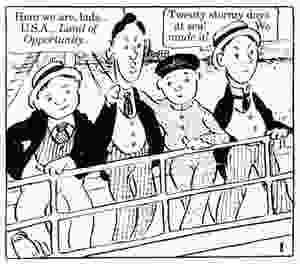 The Four Immigrants: An American Musical Manga