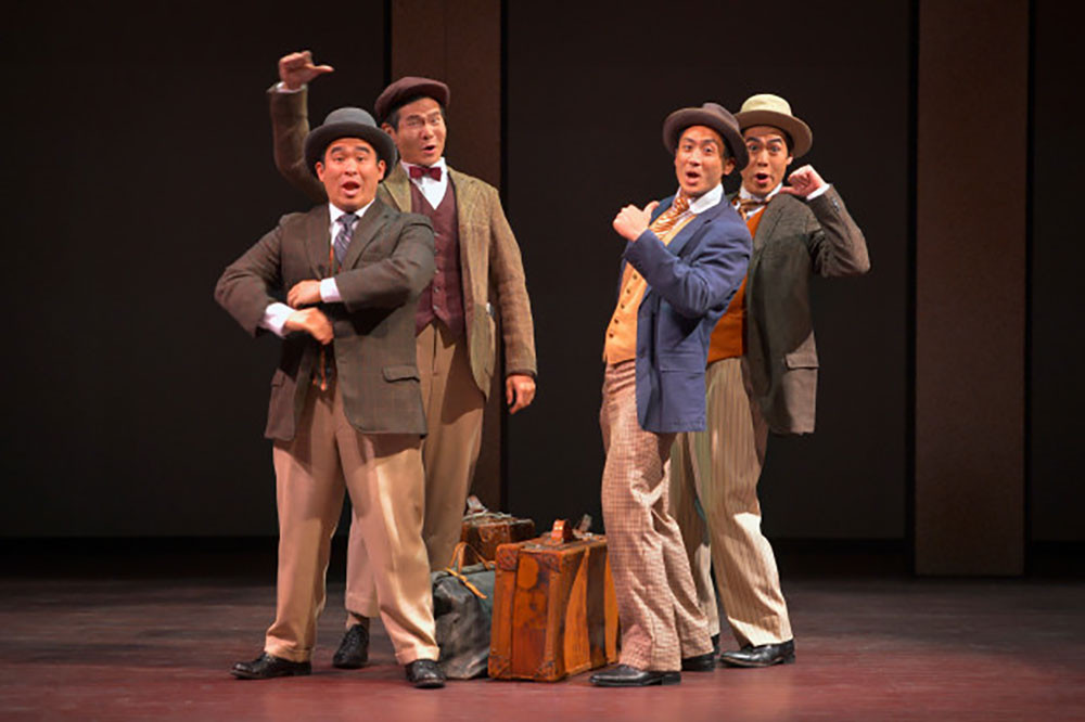'The Four Immigrants' musical is up for 10 theater awards!