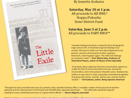 """Jeanette Arakawa to talk about her new memoir """"The Little Exile"""" in Palo Alto"""