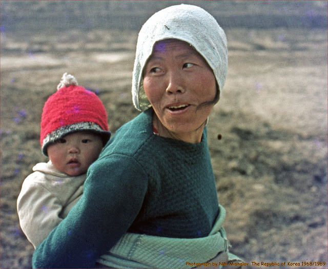 woman with baby.