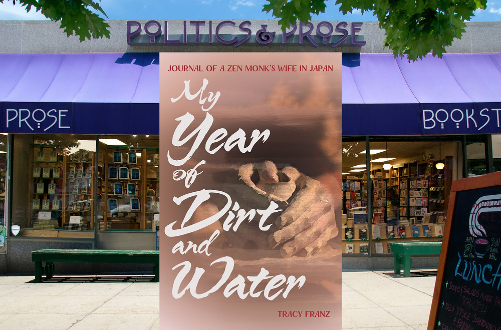 Politics and Prose Bookstore reviews Tracy Franz's 'My Year of Dirt and Water