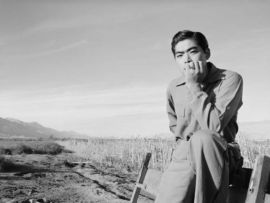 Ansel Adams' photos of life at a Japanese internment camp