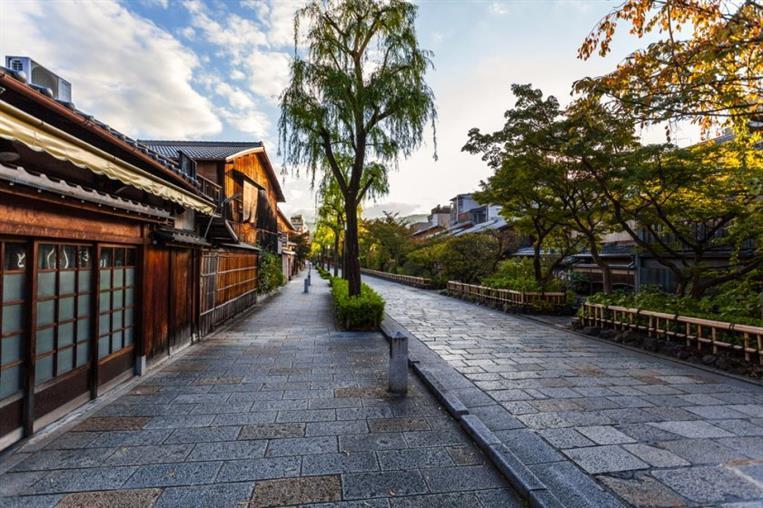 kyotomachiya outside