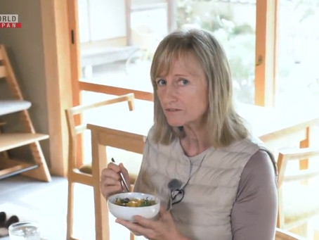 Amy Chavez featured on NHK's The Expert Way to Travel Japan
