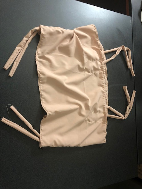 Neutral Ruched Top
