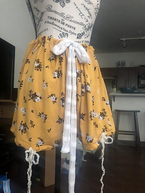 Flower Boy Yarn Shorts