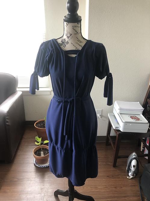 Riptide Ruffle Dress