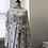 Thumbnail: Flower Midriff Maxi Dress