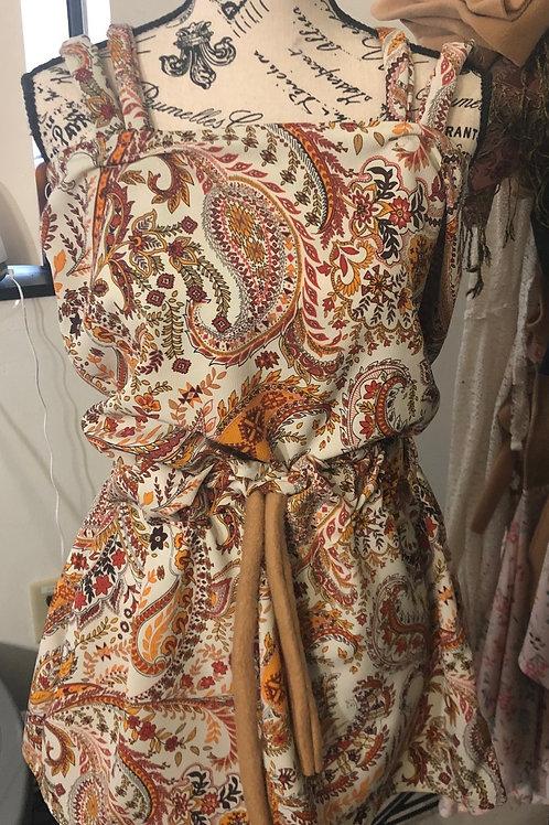 Bohemian Dress w/ straps