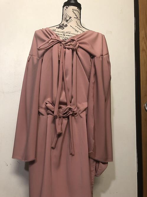 Open Chest Tie Dress