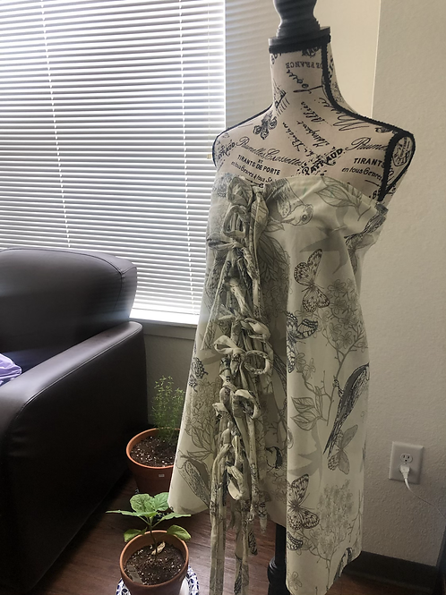 Maze Panel Dress